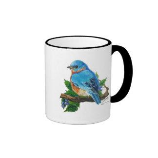 Berry Bluebird Mugs