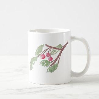Berry Branch Classic White Coffee Mug