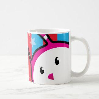 Berry Bunny - Peek-A-Boo Basic White Mug