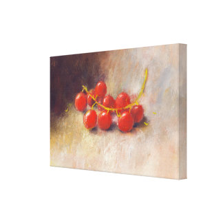 berry canvas stretched canvas print