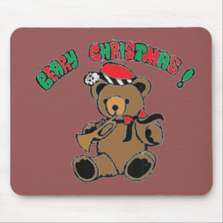 Berry Christmas Mouse Pad