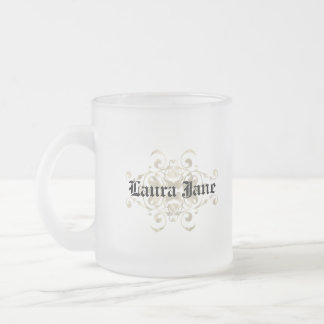 Berry Coat of Arms Frosted Glass Mug