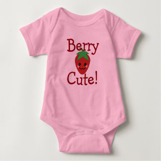 Berry Cute Baby Bodysuit