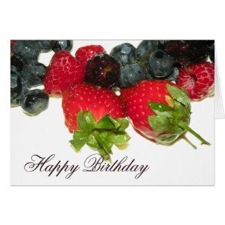 Berry Delight Happy Birthday Card