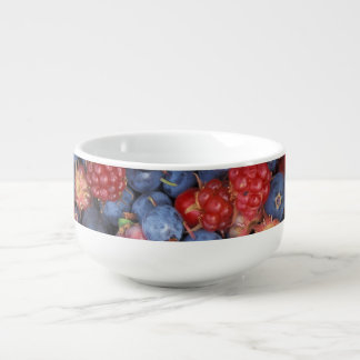 Berry Delight Soup Bowl With Handle