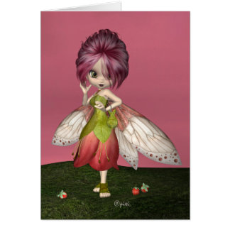"""""""Berry Fae"""" Greeting Card"""