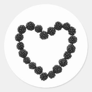 Berry Heart Sticker