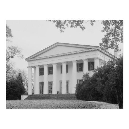 Berry Hill Plantation, Halifax VA Postcard