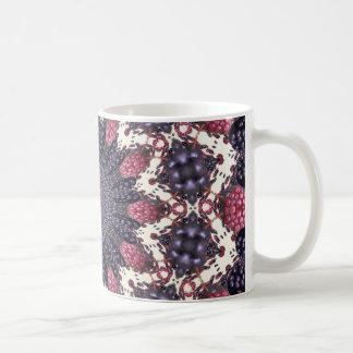 Berry Kaleidoscope Flower Mugs
