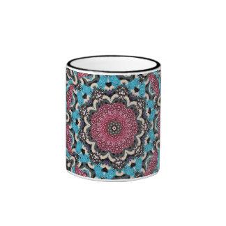 Berry Kaleidoscope Ringer Mug