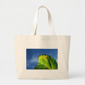Berry leaf and Autumn colors. Canvas Bag