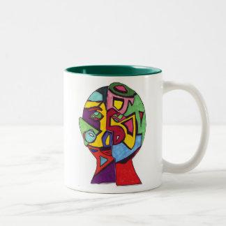 Berry Leon-Rachel R Two-Tone Coffee Mug
