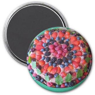 Berry Pie Dessert Refrigerator Magnet