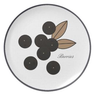 Berry_Plates_Berries_ (c) Dessert's _Luncheon_ Dinner Plates