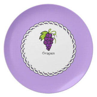 Berry-Plates-Grapes II (c)_Berry_Plate Plate