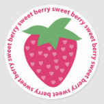 Berry Sweet Stickers