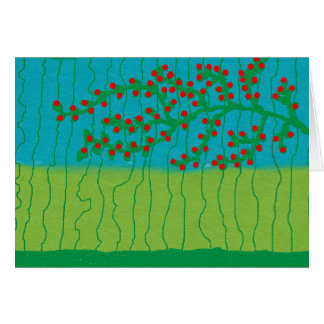 Berry tree card
