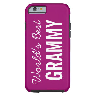 Berry World's Best Grammy Custom iPhone 6 Tough iPhone 6 Case