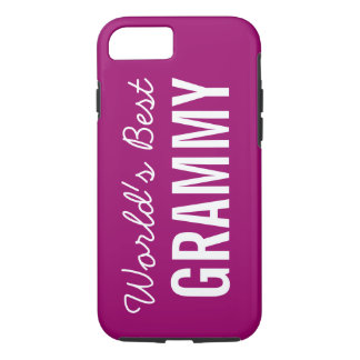 Berry World's Best Grammy Custom iPhone 7 iPhone 7 Case