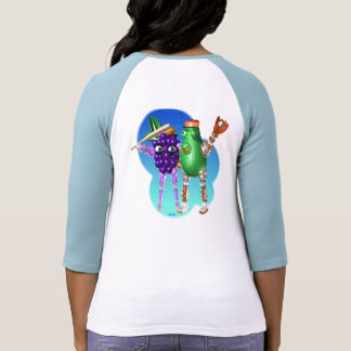 BerryBot & AvocadoBot FUDEBOTS by Valxart Shirts