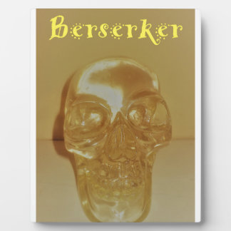 Berserker Skull Plaque