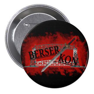 Berserkon 7.5 Cm Round Badge
