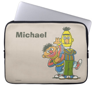 Bert and Ernie Classic Style | Add Your Name Laptop Sleeve