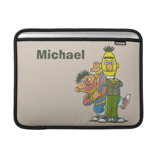 Bert and Ernie Classic Style | Add Your Name MacBook Sleeve