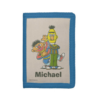 Bert and Ernie Classic Style | Add Your Name Tri-fold Wallet