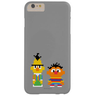 Bert and Ernie Pixel Art Barely There iPhone 6 Plus Case