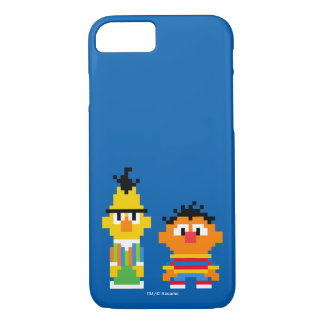 Bert and Ernie Pixel Art iPhone 8/7 Case