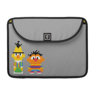 Bert and Ernie Pixel Art Sleeve For MacBook Pro
