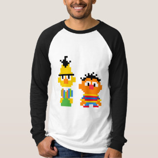 Bert and Ernie Pixel Art T-Shirt
