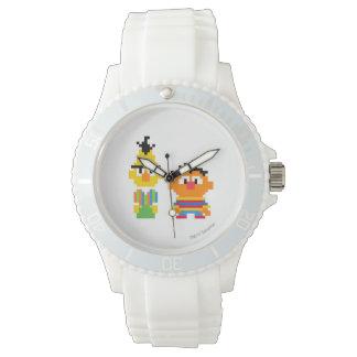 Bert and Ernie Pixel Art Watch