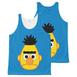 Bert Angry Face All-Over Print Tank Top