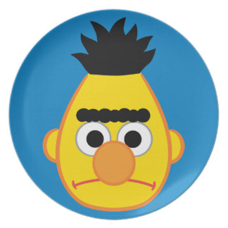 Bert Angry Face Plate