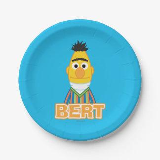 Bert Classic Style 7 Inch Paper Plate