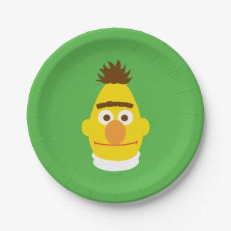 Bert Face Paper Plate