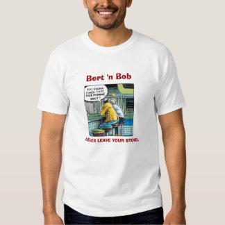 Bert 'n' Bob, the Diner Guys. Shirt