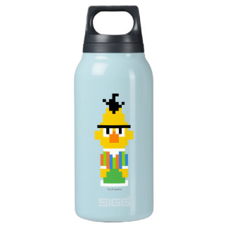 Bert Pixel Art Insulated Water Bottle