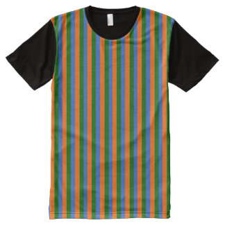 bert striped All-Over print T-Shirt