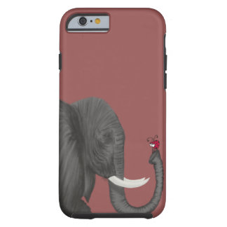 Bertha The Elephant And Her Visitor Tough iPhone 6 Case