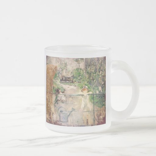 Berthe Morisot The Basket Chair Fine Art Mugs