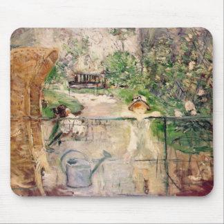 Berthe Morisot The Basket Chair Mousepad