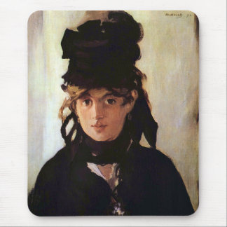 Berthe Morisot with a Bouquet of Violets, Manet Mouse Pad