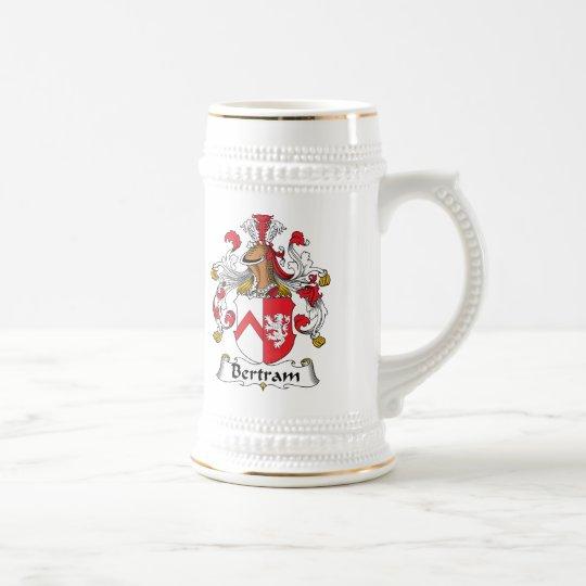 Bertram Family Crest Beer Stein
