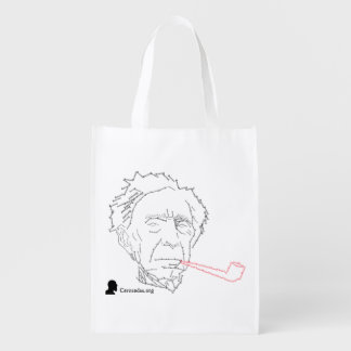 Bertrand Russell Grocery Bag