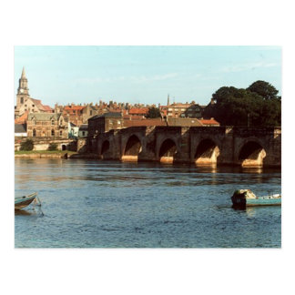 Berwick Old Bridge Postcard