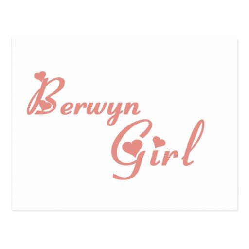 Berwyn Girl tee shirts Postcard
