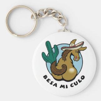 Besa Mi Culo Key Ring